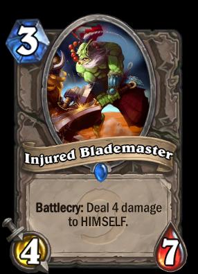 Injured Blademaster Card Image