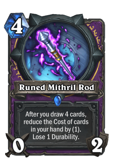 Runed Mithril Rod Card Image