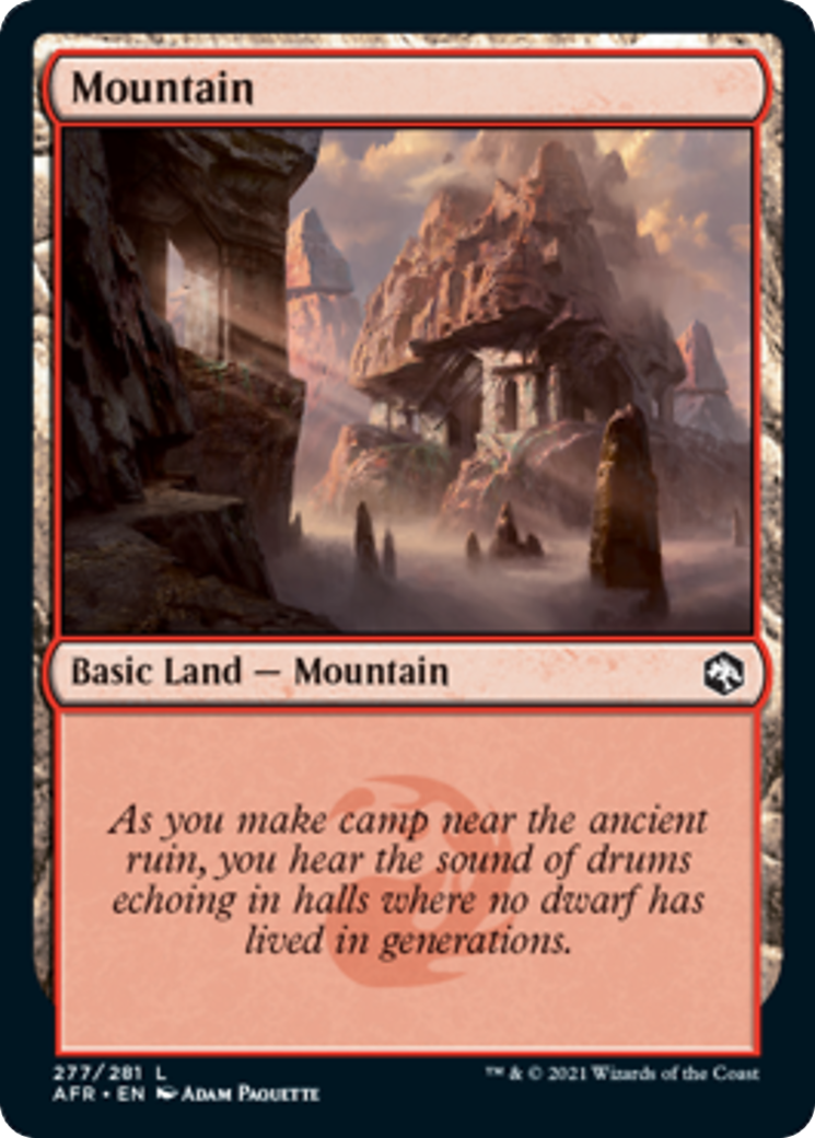 Mountain Card Image