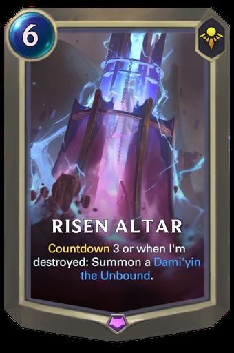 Risen Altar Card Image