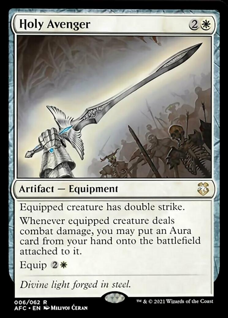 Holy Avenger Card Image
