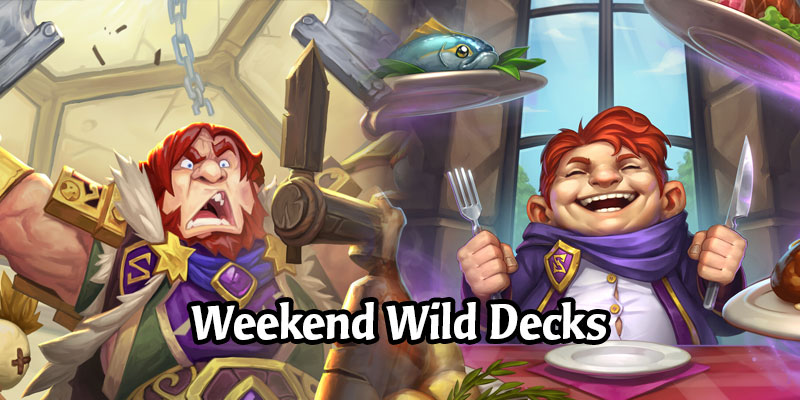 A Wild Hearthstone Weekend Featuring Oil Rogue, Turtle Freeze Mage, Cubelock, and More!