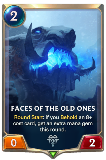 Faces of the Old Ones Card Image