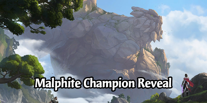 Malphite Champion & 2 New Targon Cards for Runeterra's Guardians of the Ancient Expansion Revealed!