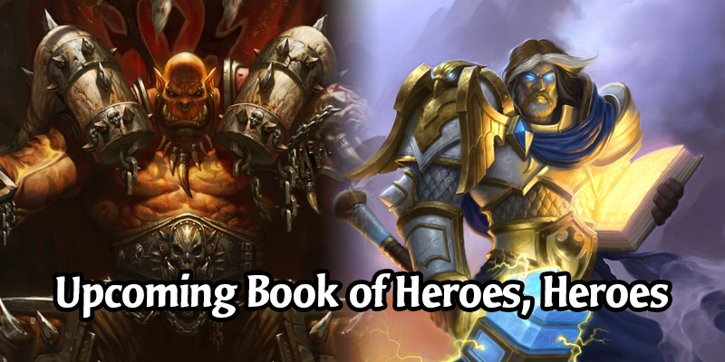 Hearthstone's Book of Heroes - Datamined Release Order of All Heroes