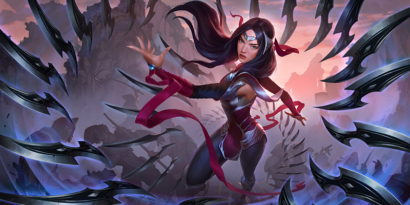 An Initial Look at Irelia and The Other Cards Coming to Runeterra This Week