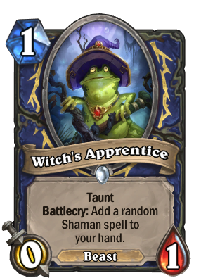 Witch's Apprentice Card Image