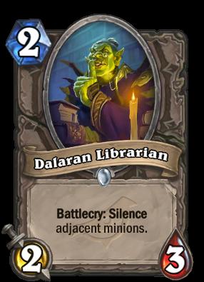 Dalaran Librarian Card Image