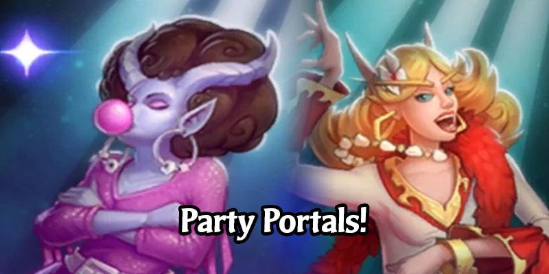 "This Week's Hearthstone Tavern Brawl is ""Party Portals!"" - Karazhan Portals Gone Wild"