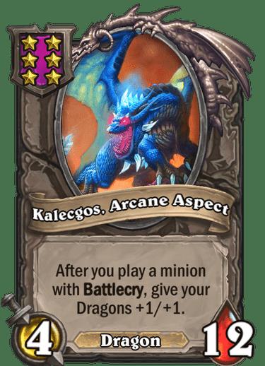 Kalecgos, Arcane Aspect Card Image