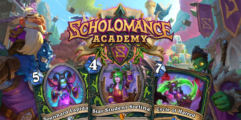 Our Thoughts on Hearthstone's Scholomance Academy Demon Hunter Cards