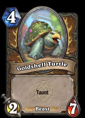 Goldshell Turtle Card Image