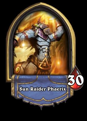 Sun Raider Phaerix Card Image