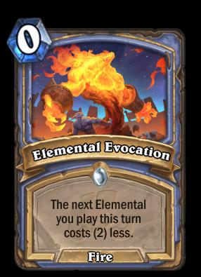 Elemental Evocation Card Image