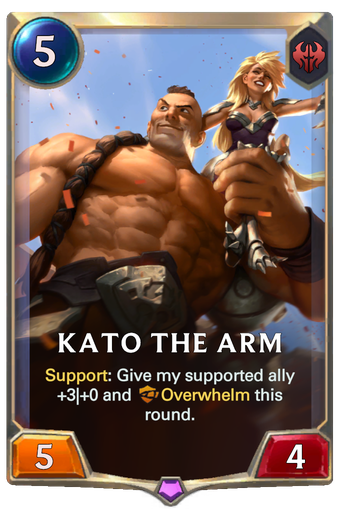 Kato The Arm Card Image
