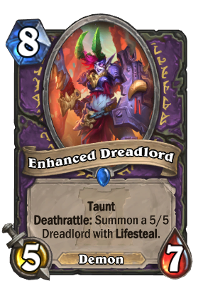 Enhanced Dreadlord Card Image