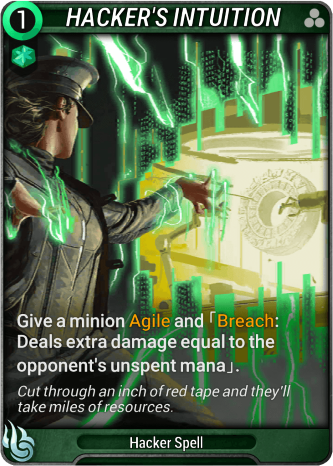 Hacker's Intuition Card Image