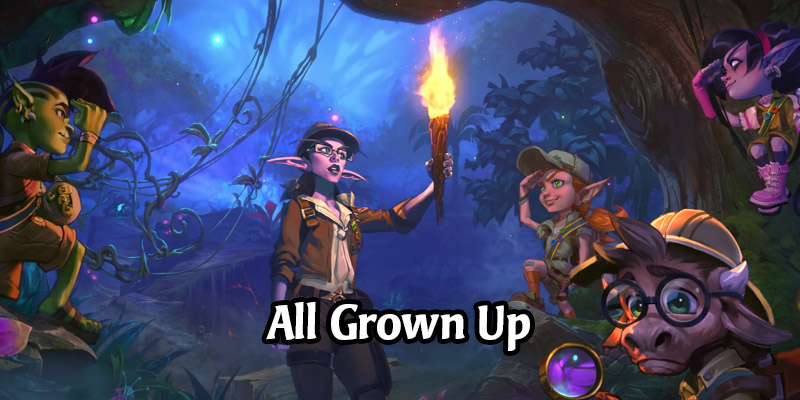 Journey to Un'Goro's Junior Explorers Have All Grown Up! Some Story of The Mercenaries Confirmed by Blizzard
