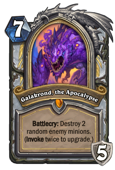 Galakrond, the Apocalypse Card Image