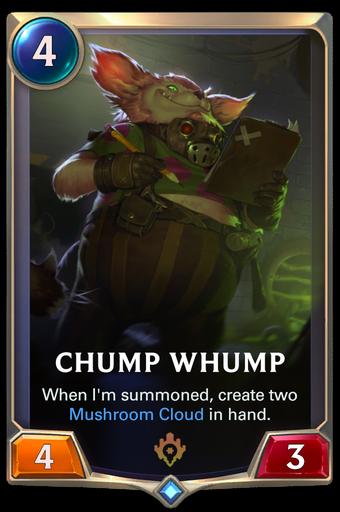 Chump Whump Card Image