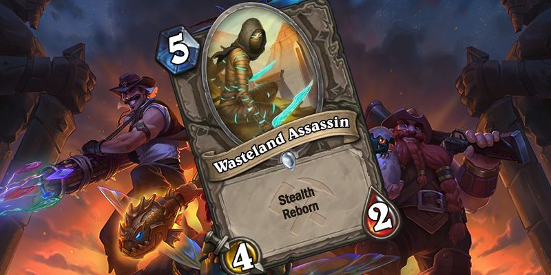 Uldum Card Reveal - Wasteland Assassin