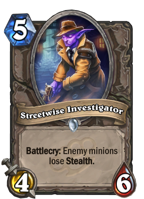 Streetwise Investigator Card Image