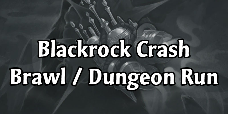 Dalaran Crashes Into Blackrock Mountain - Blackrock Crash Brawl Rewards Old Seasonal Card Back