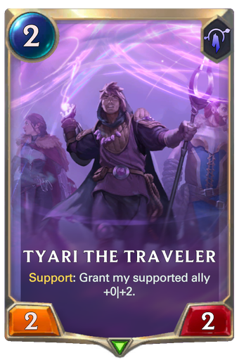 Tyari the Traveler Card Image