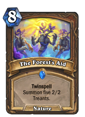 The Forest's Aid Card Image