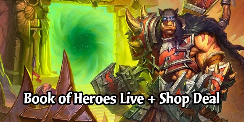 Hearthstone Book of Heroes: Rexxar is Now Live! New Shop Bundle With Alternate Rexxar Hero