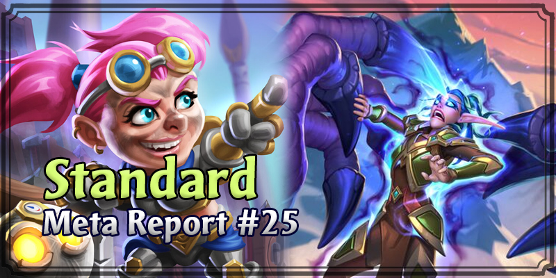 Standard Meta Report #25 - Top Hearthstone Decks February 23, 2020 - March 1, 2020
