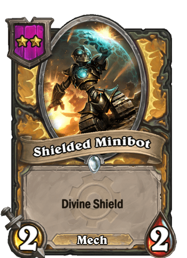 Shielded Minibot Card Image