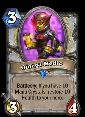Omega Medic Card Image