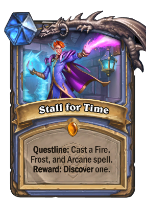 Stall for Time Card Image