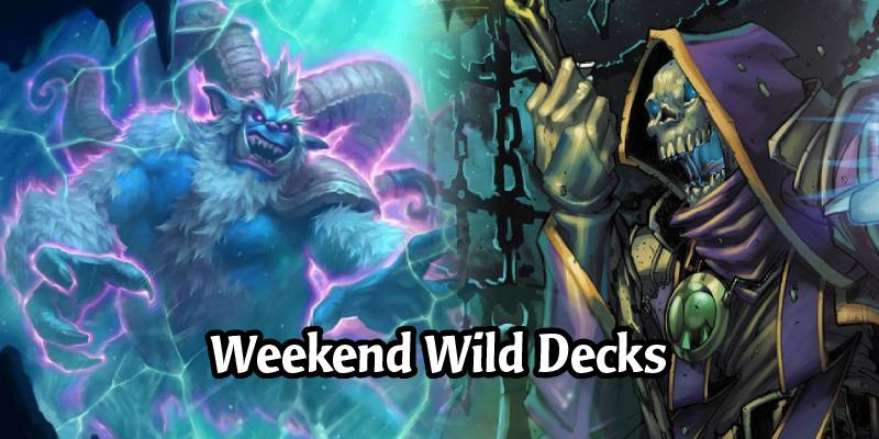 Weekend Wild Hearthstone Decks - Undertaker Hunter, Quest Rogue, Even Paladin, and More!