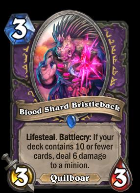 Blood Shard Bristleback Card Image