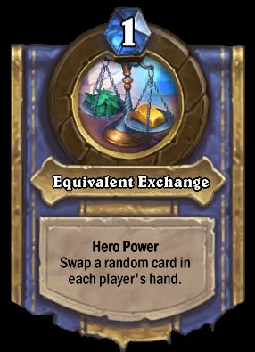 Equivalent Exchange Card Image