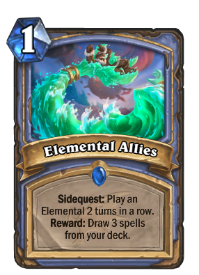 Elemental Allies Card Image
