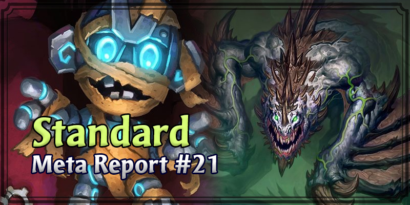 Standard Meta Report #21 - Top Hearthstone Decks January 26, 2020 - February 2, 2020