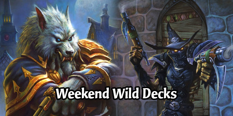 A Wild Hearthstone Weekend Featuring Aggro Highlander Even Hunter, Corrupt Highlander Warlock, and More!