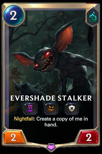 Evershade Stalker Card Image
