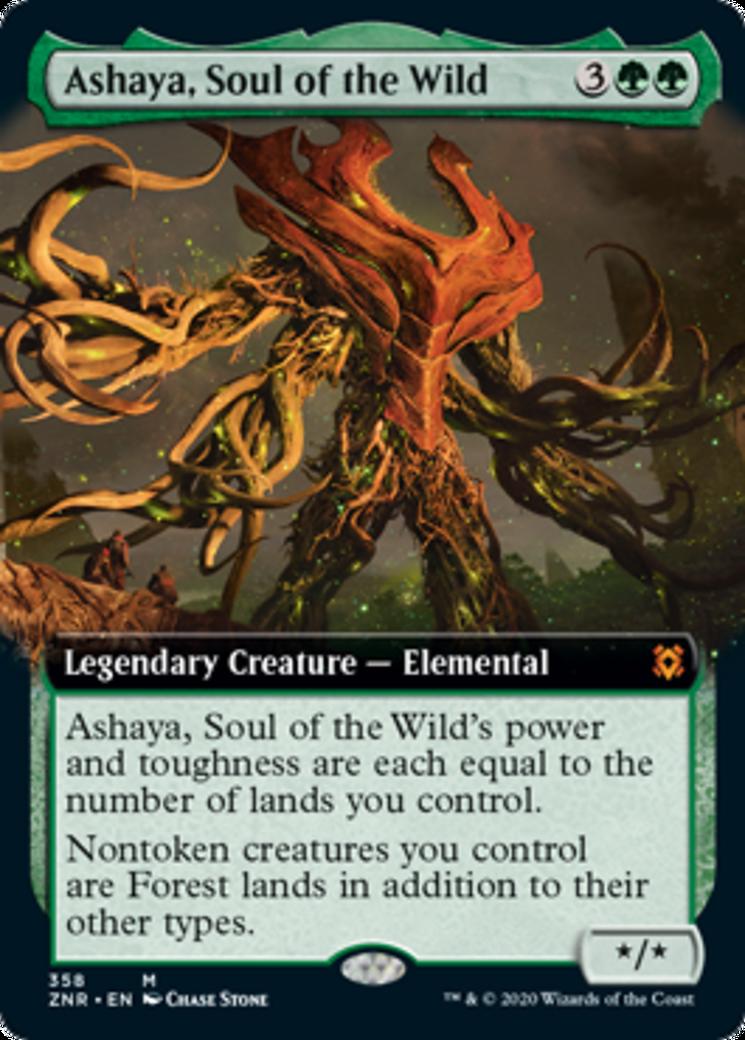 Ashaya, Soul of the Wild Card Image