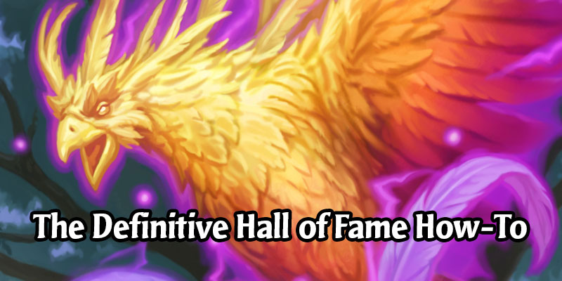 Hall of Fame Crafting Guide for Hearthstone's Year of the Phoenix Rotation & Ashes of Outland Expansion