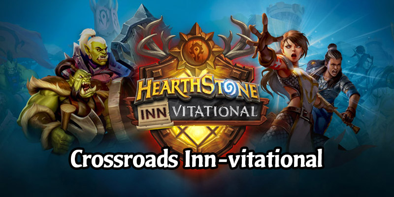 Watch the Crossroads Inn-vitational - 20 Hearthstone Creators Compete for $100,000