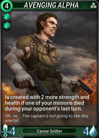 Avenging Alpha Card Image