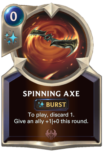 Spinning Axe Card Image