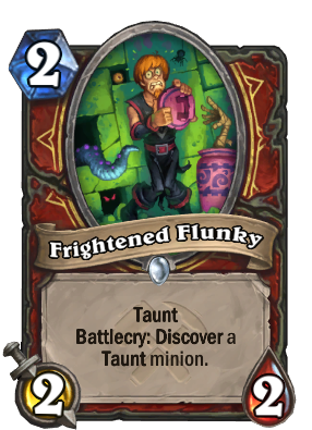 Frightened Flunky Card Image
