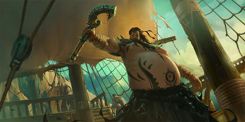 More Teasers for Runeterra's Rising Tides Expansion - Vicious Tales...