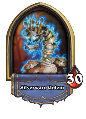 Silverware Golem Card Image