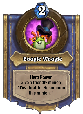 Boogie Woogie Card Image